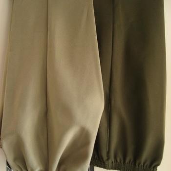 pantalon polyester tout élastique à la taille pour homme - tissu léger