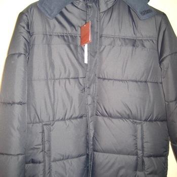 veste chaude noir pour homme - crown - reste L