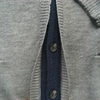 """gilet boutonné avec de la laine """"GCM"""" gris pour homme - reste XXL & 4XL en PROMO"""