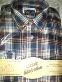 chemise flanelle pour homme - grandes tailles