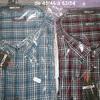 """chemise longues manches """"gcm"""" gris/turquoise - 5XL"""