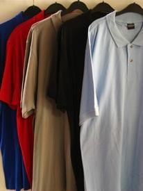 polo courtes manches coton piqué pour homme - grandes tailles
