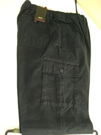pantalon flanelle taille élastique avec bouton + poche sur le côté pour homme - grandes tailles - mason