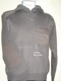 pull 1/2 tirette acrylic pour homme - commando - reste xl/xxl