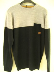 pull acrylic avec poche pour homme - fisher & bennet