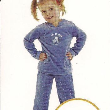 pyjama velours rasé let it snow (eskimo) lavande reste 3 ans 5 ans 6 ans EN PROMO