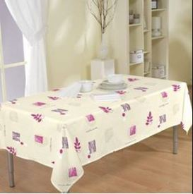 nappe polyester 140*250cm - rose
