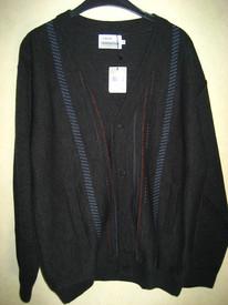 gilet boutonné avec laine anthracite pour homme