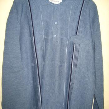 pull polo classique jeans avec laine pour homme - reste M