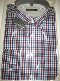 chemise longues manches coton-polyester pour homme en PROMO - henderson #