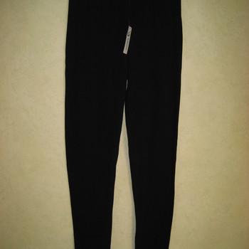 legging molletonné noir pour dame - dolomites XL & XXL