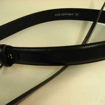 ceinture cuir pour homme avec couture