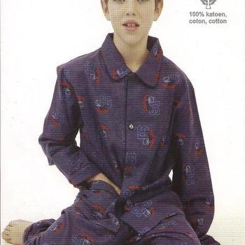 pyjama flanelle pour les garçons - reste 8 Ans - birds EN PROMO