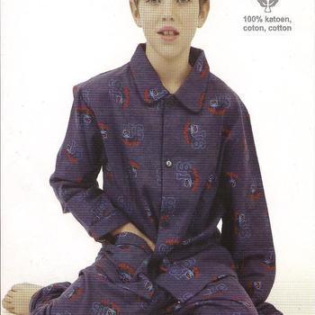 pyjama flanelle pour les garçons - reste 10 Ans - birds gris EN PROMO