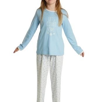 pyjama interlock (coton lourd) pour fille - some stars EN PROMO - reste 10 ans 16 ans