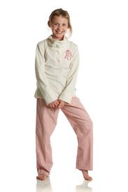 pyjama veste polaire-pantalon flanelle pour filles 16 ans - blinky EN PROMO