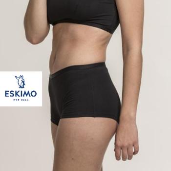 shorty coton-élasthane - elements pour dame  noir - L - XL - XXL