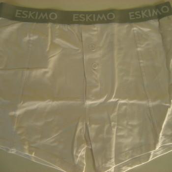 """shorty coton-élasthane """"eskimo"""" avec boutons - elements noir"""