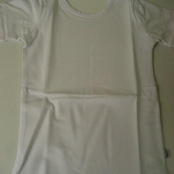 t-shirt courtes manches elements blanc