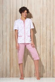 pyjama corsaire boutonné pour dame - Annecy