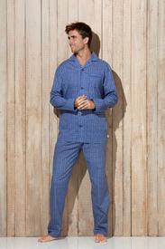 pyjama boutonné tergal pour homme - Ward