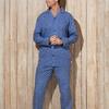 pyjama boutonné tergal pour homme - Ward marine XL