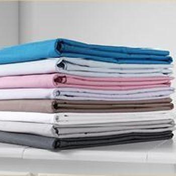 drap housse 100% coton pour lit de 2 personnes 1.6*2m - gentle - différents coloris