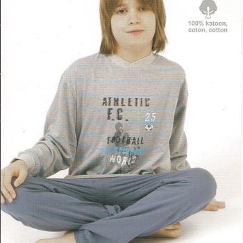 pyjama coton jersey pour garçon de 8 ans - athletic EN PROMO