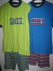 pyjashort coton pour garçons de 10 à 16 ans - chic exotic
