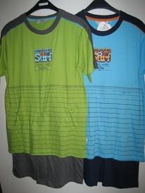 pyjashort coton pour garçons de 10 à 16 ans - good vibe