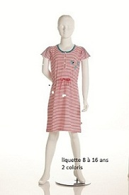 liquette coton courtes manches - kites en PROMO