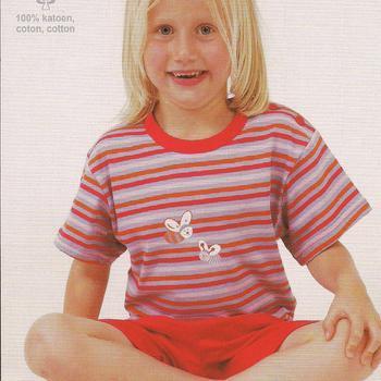 pyjashort coton jersey - == short fuschia reste 5ans 6 ans