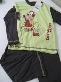 pyjama coton jersey pour garçon de 4-5 ans - singe musicien EN PROMO