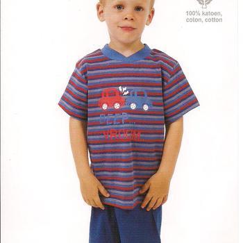 pyjashort pour les garçons - beep reste 5 ans