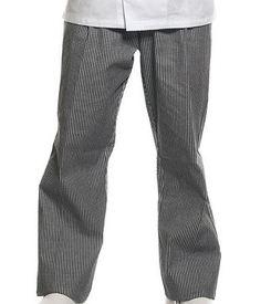 pantalon pied de poule en 100% coton