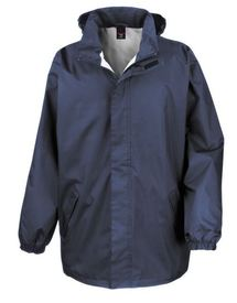 veste contre la pluie et le vent doublée unisexe