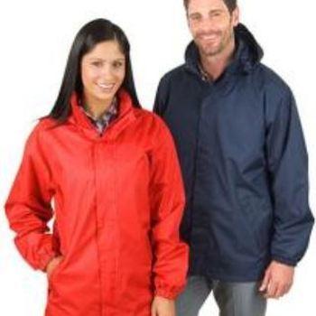 veste légère contre vent & pluie doublée unisexe