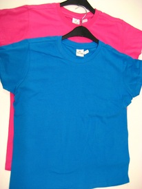t-shirt coton cintré  - reste fuschia  pour dame EN PROMO
