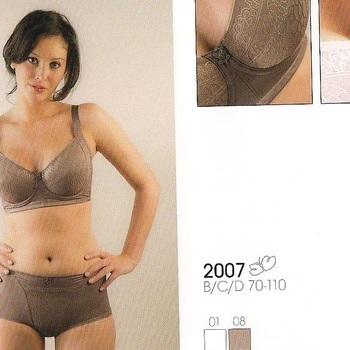 "soutien avec armatures ""triolet""- 2007 cappucino 90/105B - 90/105C - 95/110B - 95/110C"