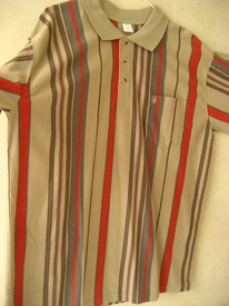polo courtes manches polyester     pour homme