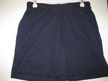 short coton jersey marine ou gris pour homme ou dame