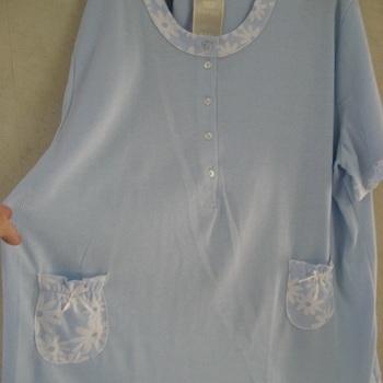 pyjama corsaire cotelé empire isa, noeuds aux poches, 3XL