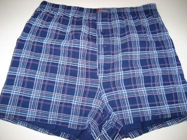 boxers (modèle ample avec boutons) coton - 5% élasthane aussi en grandes tailles - jusque 4XL - Brighton marine