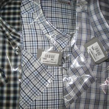 chemise courtes manches capraia grandes tailles pour homme : 5XL - 6XL
