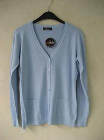 gilet boutonné avec poches pour dame - doux tricot EN PROMO _ différents coloris