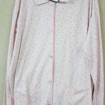 pyjama boutonné 100% coton lourd pour dame - anoa - reste rose XXL