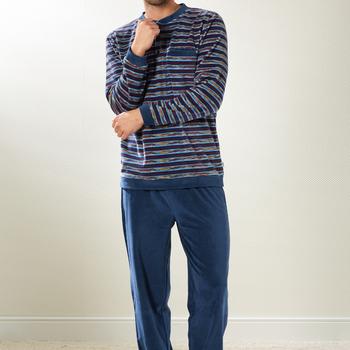pyjama velours rasé pour homme - wes - reste XXXL