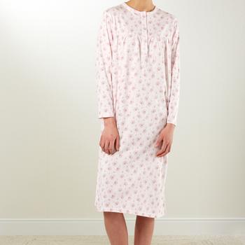 robe de nuit lm coton jersey - Aaike - M à XXL