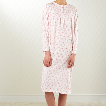 robe de nuit coton jersey - Aaike rose - M - L - XL - XXL