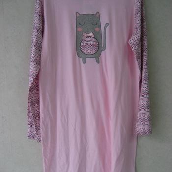 liquette coton jersey nicolet pour dame - reste 34/36 & 38/40 EN PROMO